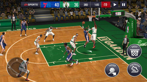 NBA LIVE Mobile Basket-ball  captures d'écran 6