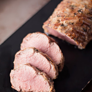 Brazilian Pork Tenderloin with Parmesan Crust.