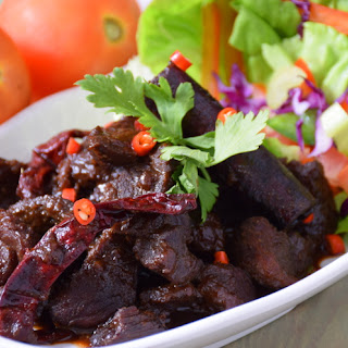 Sweet soy sauce beef stew- Traditional Malay Beef Stew.