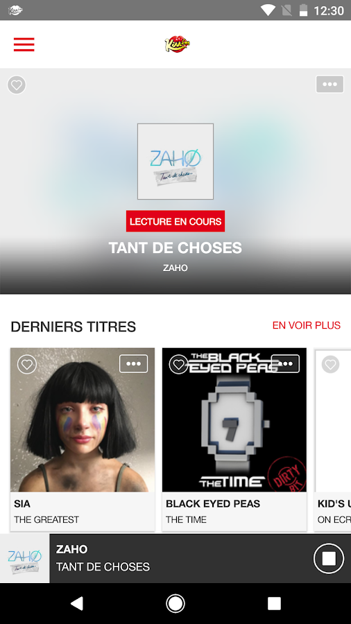 Kiss FM France- screenshot
