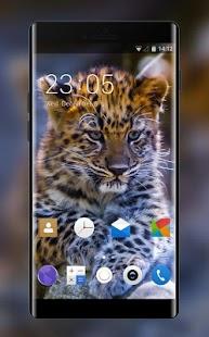 Theme for Karbonn K45+ leopard Wallpaper - náhled