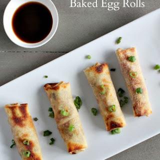 Baked Egg Rolls