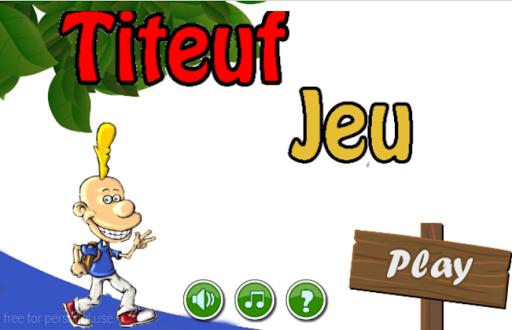 Titeuf Jeu