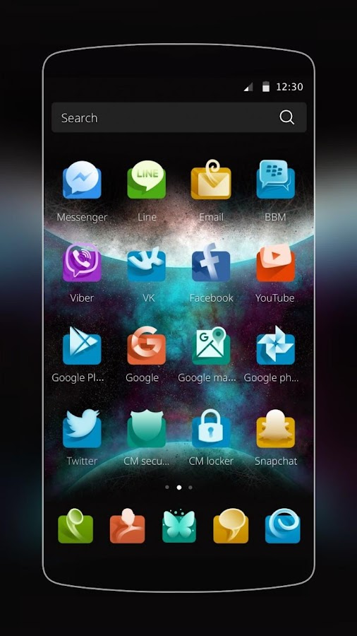 3d theme for samsung android apps on google play - Google chrome 3d home design app ...