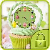 cute cup cake ice cream theme