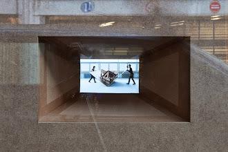 Photo: Armin B. Wagner und Liddy Scheffknecht. Plinque - Pli selon Pli. Gallery 22,48m2, Paris, 2013