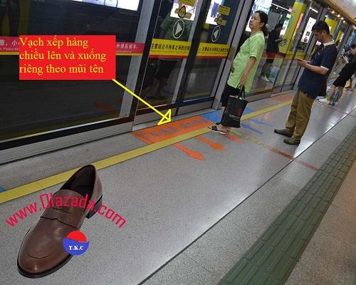 cửa soát vé tàu điện ngầm