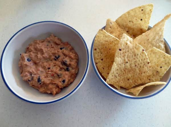 Fast And Easy Mexican Skillet Bean Dip