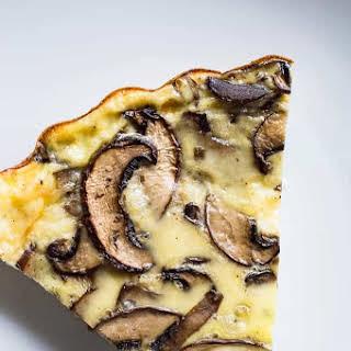 Mushroom Quiche.