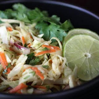 Mayo-less Mexican Slaw.