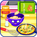 Cooking pizza for dinner Icon