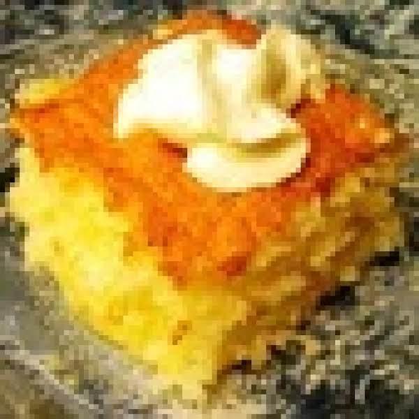 Easy Dump Cake: Angel Food Pineapple Cake Recipe
