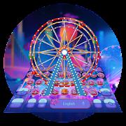 Neon Ferris Wheel keyboard