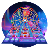 Neon Ferris Wheel keyboard