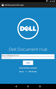 Dell Document Hub- screenshot thumbnail