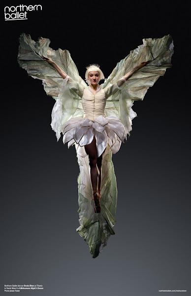 Photo: Northern Ballet dancer Dreda Blow as Titania in David Nixon's A Midsummer Night's Dream. Photo Jason Tozer.