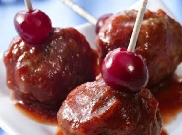 Berry Glazed Meatballs