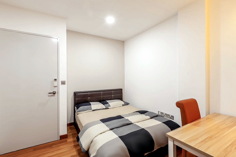 Bedroom at Sims Avenue Serviced Residence, Orchard Road
