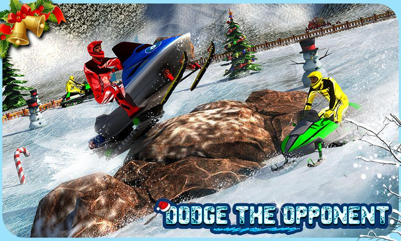 Snowmobile Crash Derby 3D- screenshot
