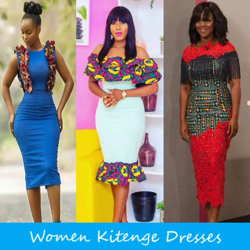 18b40970a53a3 Women Kitenge Dresses - Apps on Google Play