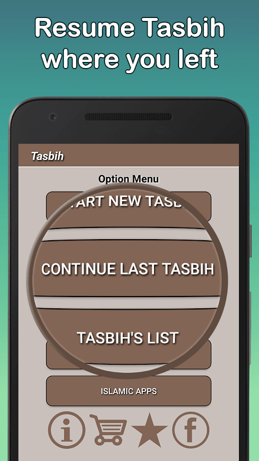 Tasbih with Actual Experience- screenshot