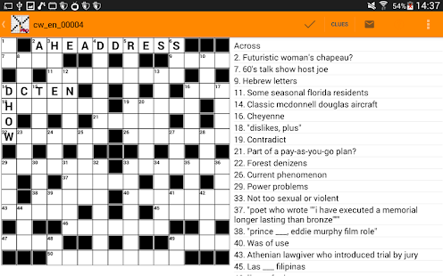 US Style Crossword Puzzles English- screenshot thumbnail