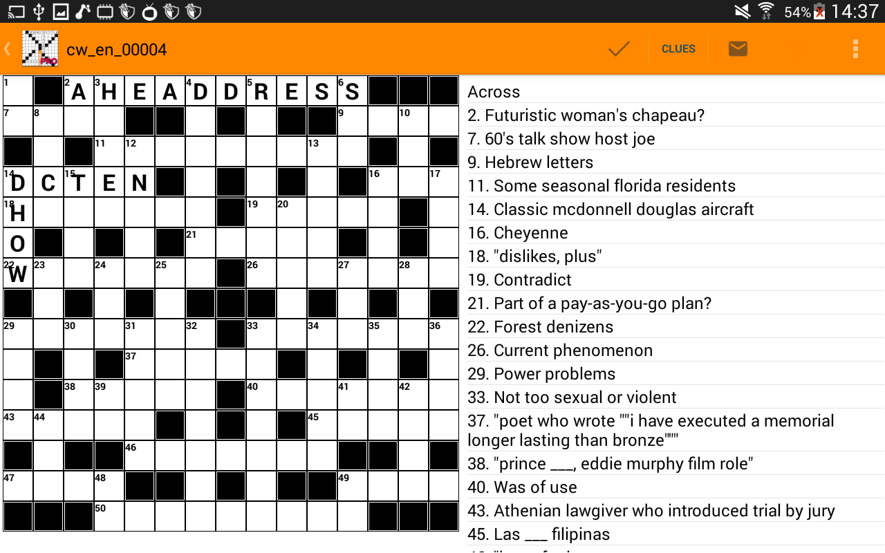 Unolingo No Clue Crosswords 943 Equazi Enterprizes LLC Word Everyone Crossword Puzzle