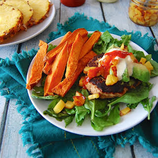Hawaiian Burgers with Pineapple-Ginger Relish, 2.0.