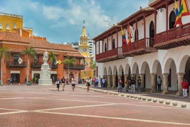 Passeio por Cartagena