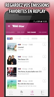 Télé Star — Guide TV,  Programmes et Replay Capture d'écran