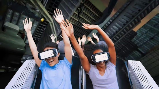 VR 360 Roller Coaster Videos - náhled