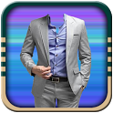 Stylish Man Suit Montage icon