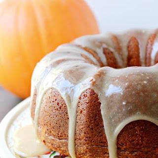 Pumpkin Pound Cake.
