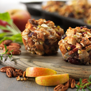 Apple-Cranberry Stuffing Cups