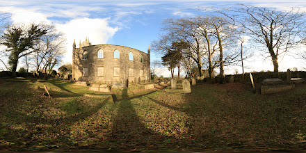 Photo: A photosphere of the southern elevation of the Old Church in Saint Day, Cornwall. #photosphere #Cornwall