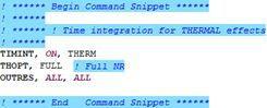 ANSYS | Общие настройка расчёта, включаемые в файл объектом «Heat generation»