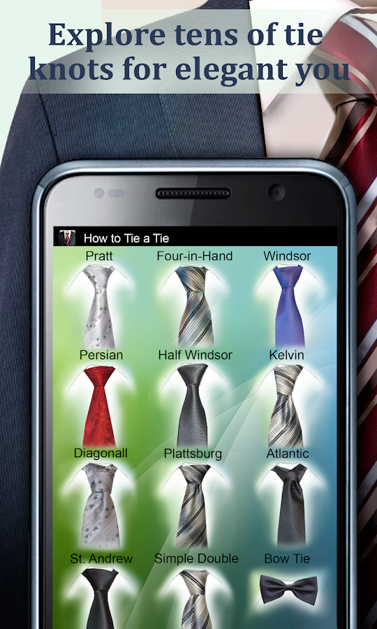 How to Tie a Tie Pro- screenshot