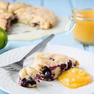 Blueberry Lime Scones Recipe