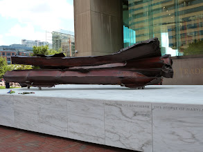 Photo: Remaining Steelframe of the World Trade Center.