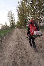 Photo: Nakvynės paieškos kaimų keliukais.  Looking for a place to pitch our tent.