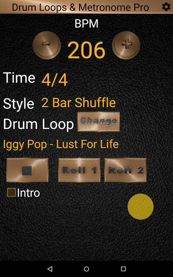 Drum Loops & Metronome Pro- screenshot
