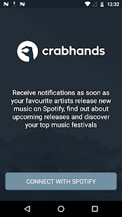 crabhands: new music releases & festival lineups Screenshot