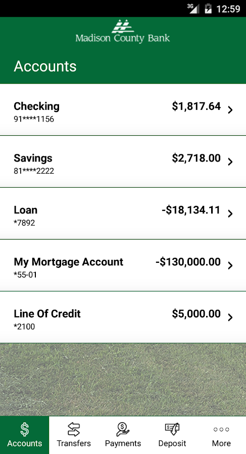 Madison County Bank- screenshot