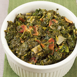 Sweet and Sour Spinach with Bacon