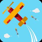Misiles Ataque Avión De Escape icon