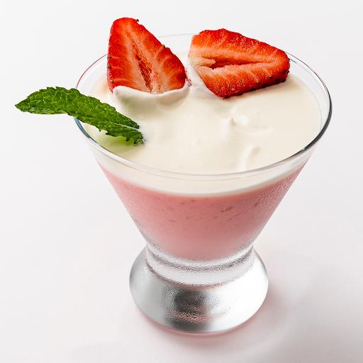 Strawberry Fruit Pudding