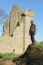 Photo: The North Pennines AONB Partnership's Historic Environment Officer Paul Frodsham.