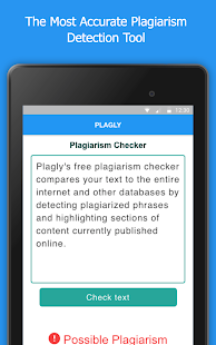 Plagly - Plagiarism Checker- screenshot thumbnail