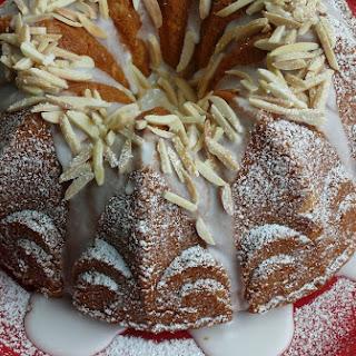 Limoncello Syrup Lemon Cake.