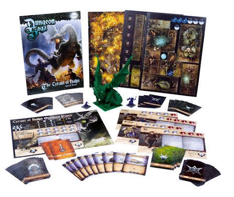 Dungeon Saga: The Tyrant of Halpi